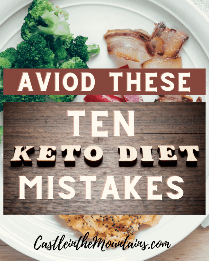 10 Keto Diet Mistakes to Avoid for weight loss success