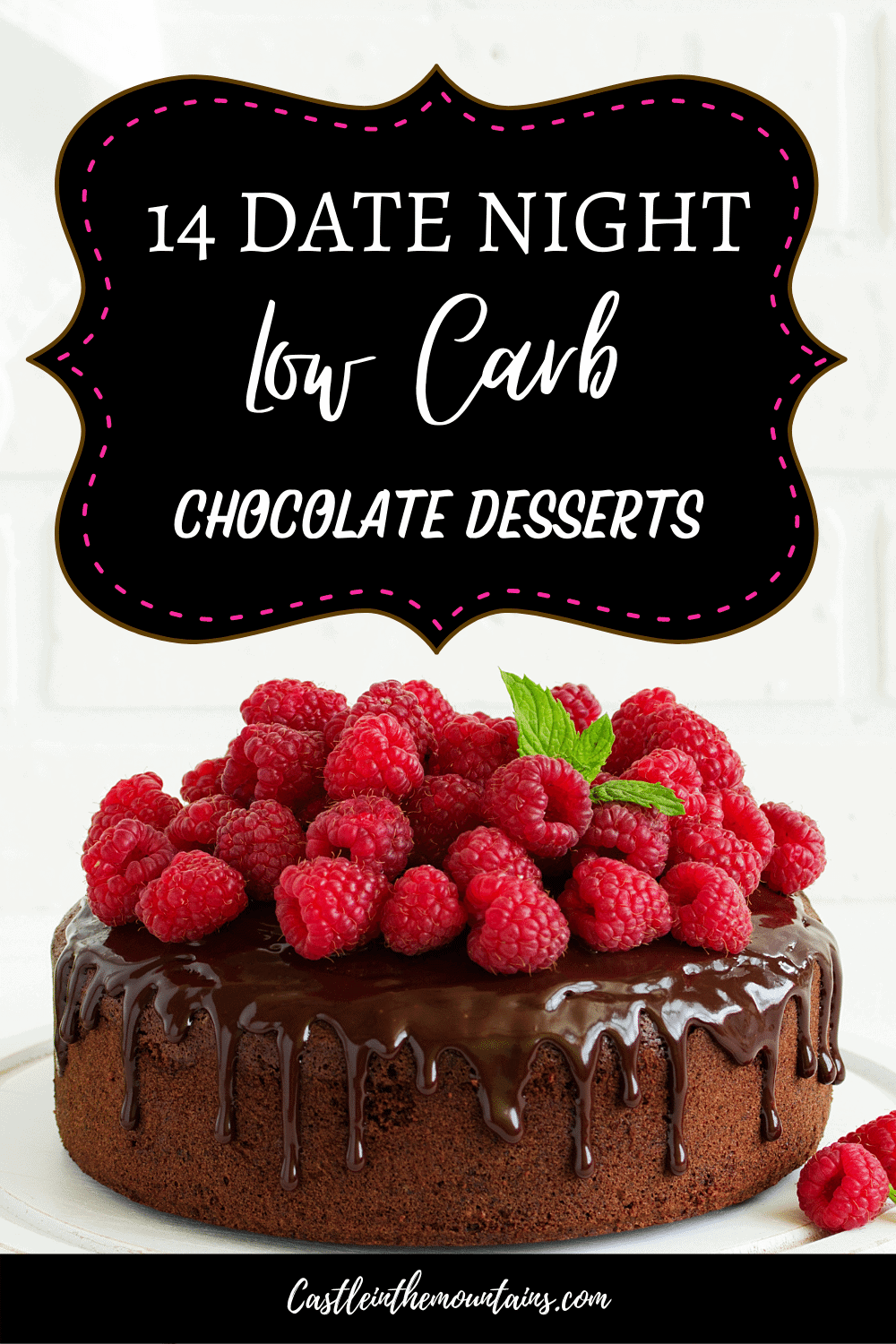 14 Keto Chocolate Desserts - How to make date night treats!