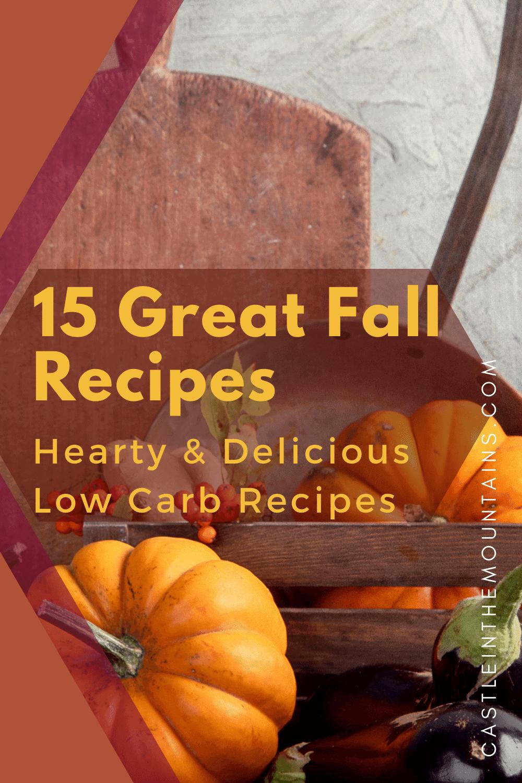 15 Fantastic Fall Keto Recipes