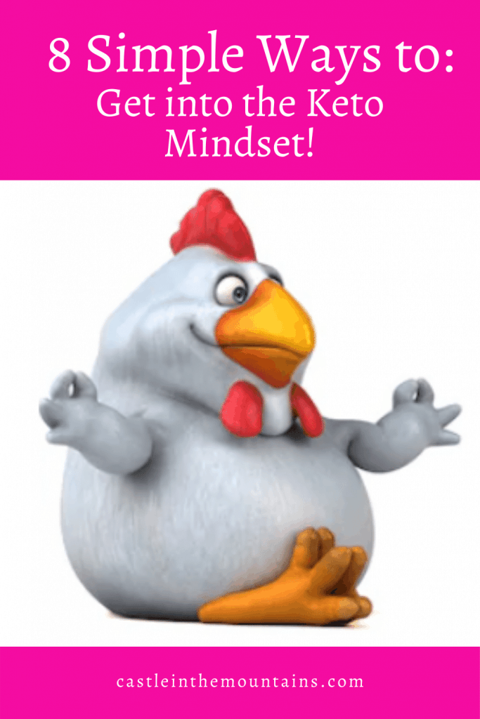 8 ways to get into the keto mindset Pin