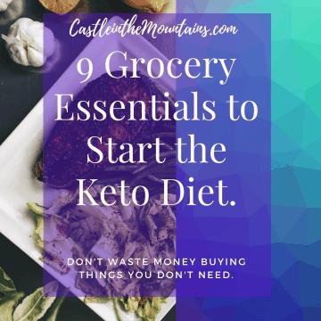 9 Keto Grocery Essentials for keto on a budget