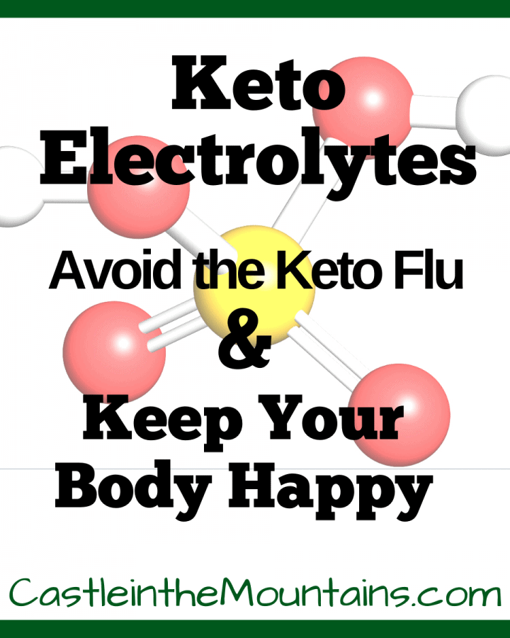 Electrolytes, Keto Flu Supplements, weight loss