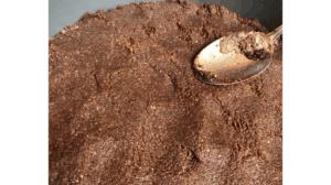 Keto Chocolate Cheesecake crust)