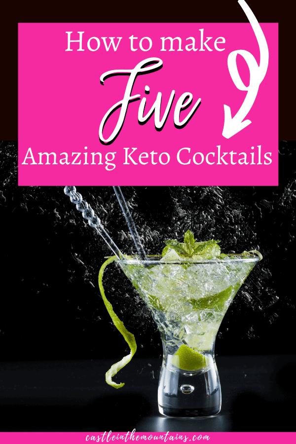 Keto Cocktail Recipe Pins (1)