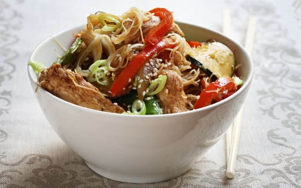 Keto Egg Roll in a bowl post