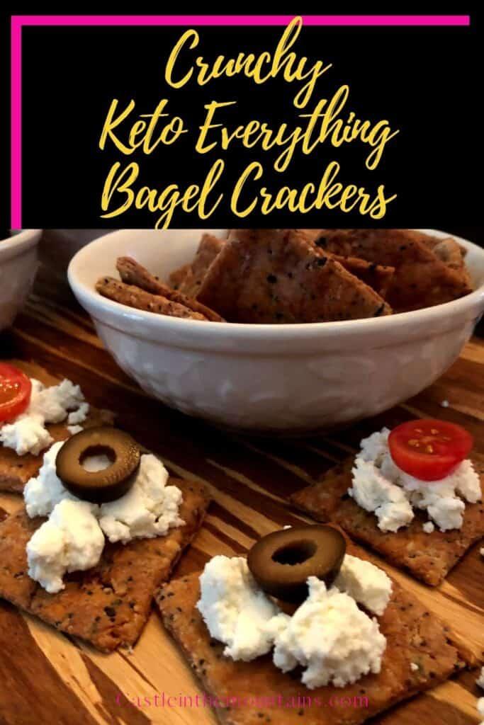 Keto Everything Bagel Crackers Pins (1)