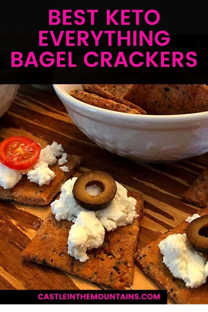 Keto Everything Bagel Crackers Pins (2)
