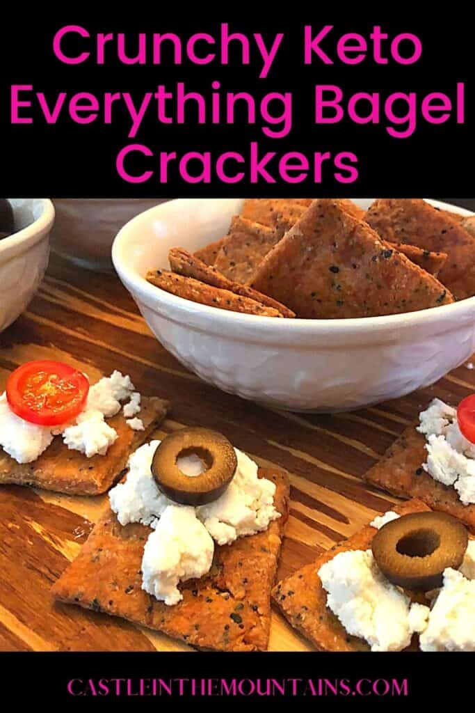 Keto Everything Bagel Crackers Pins (3)