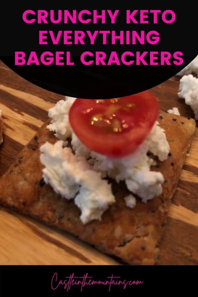 Keto Everything Bagel Crackers Pins (4)