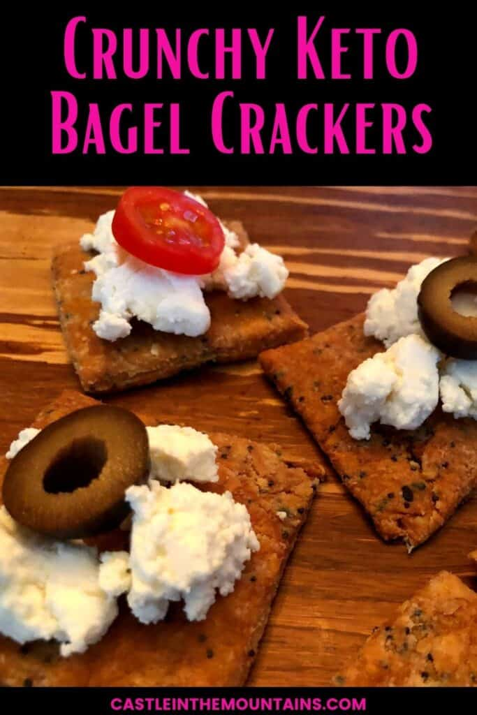 Keto Everything Bagel Crackers Pins (5)