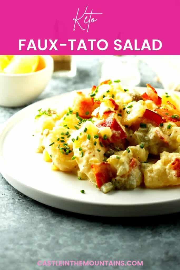 Keto Faux-tato salad Pins (2)