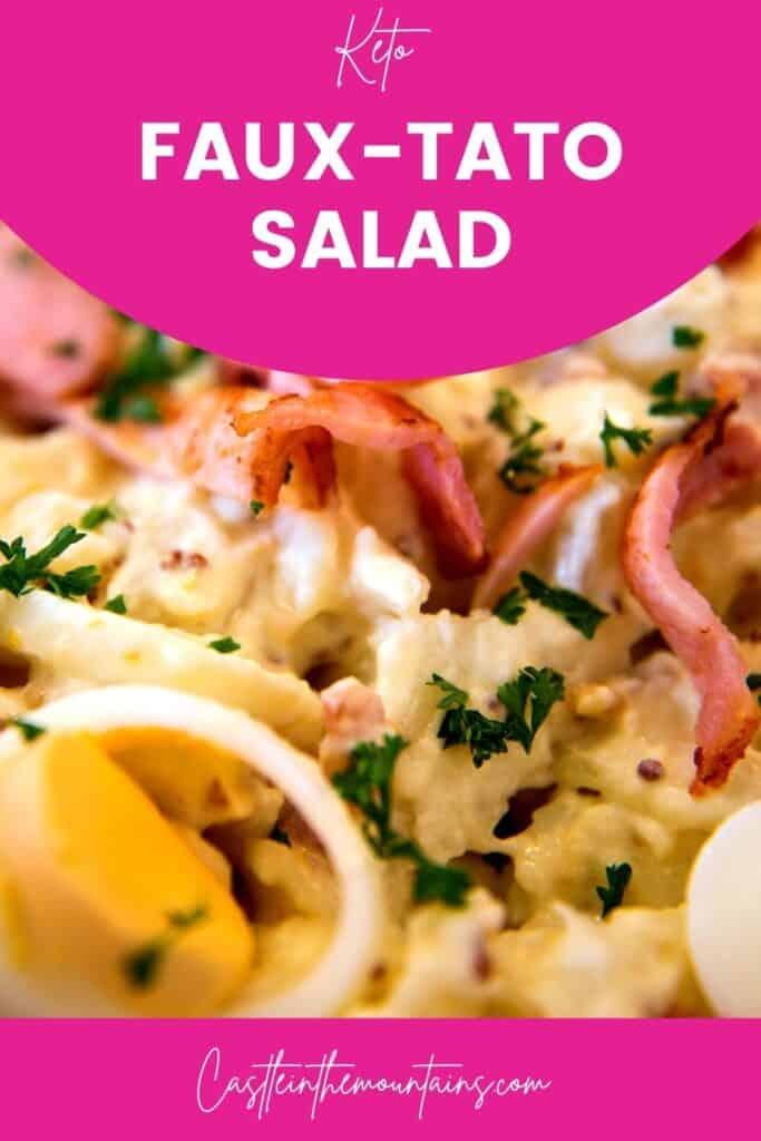 Keto Faux-tato salad Pins (4)