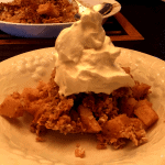 Keto Green Apple Crumble