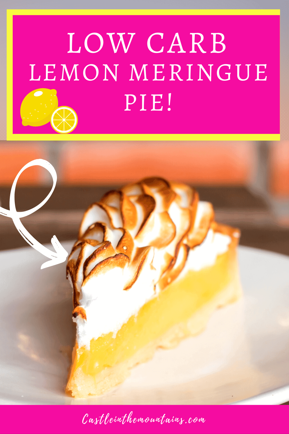 Lemon Meringue Pie - How to make Keto Lemon Pie!