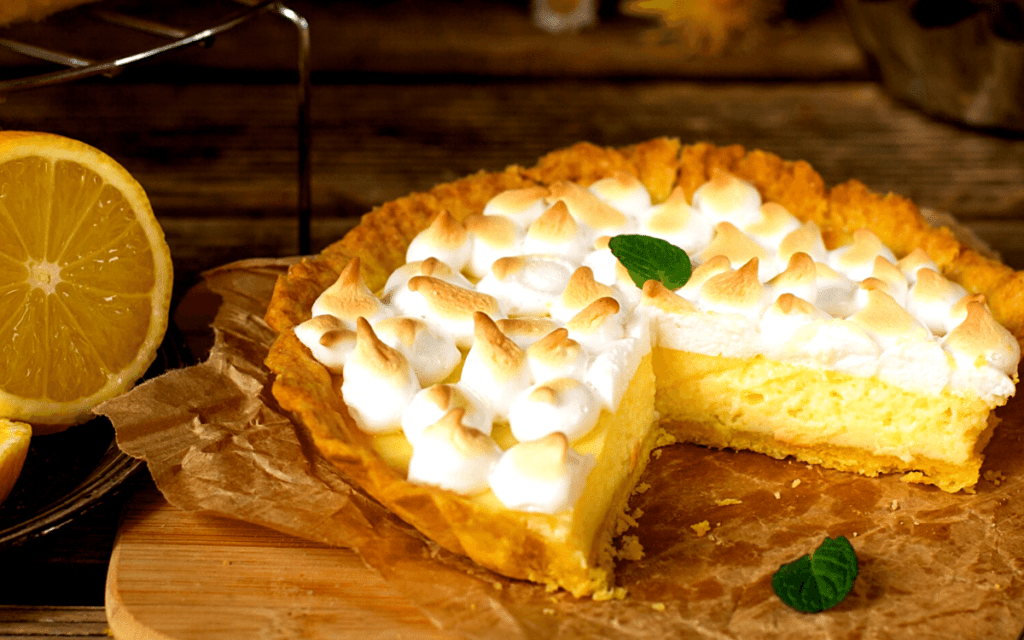 Served Keto Lemon Pie