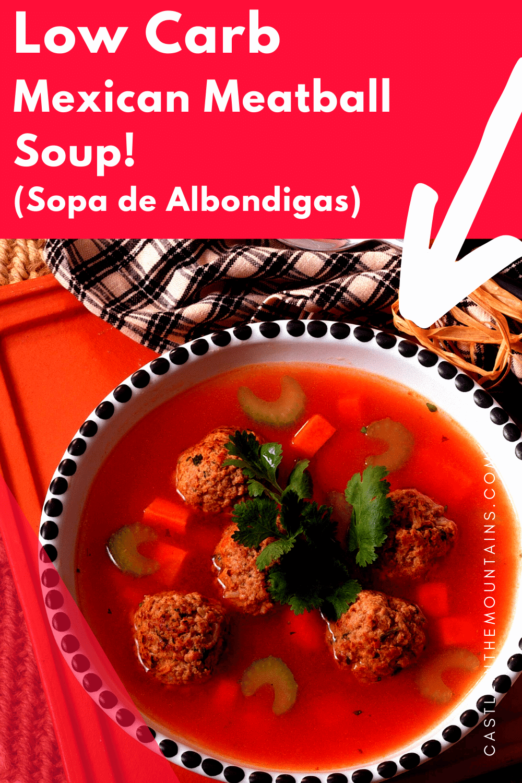 Mexican Meatball Soup- How to make Sopa de Albondigas!