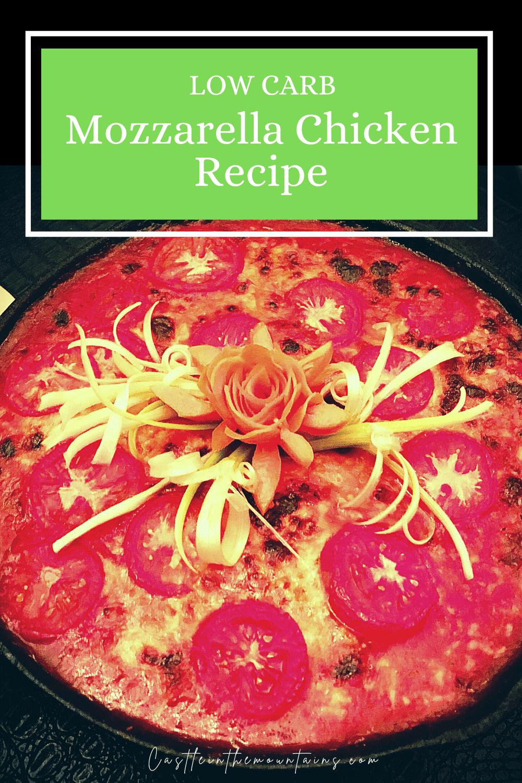 Mozzarella Chicken - Easy Italian Dinner Idea for Busy Weeknights!