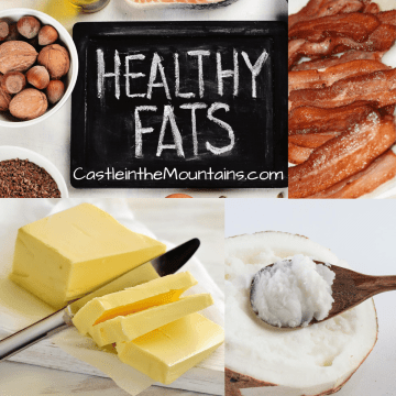 Keto & healthy saturated fats low carb