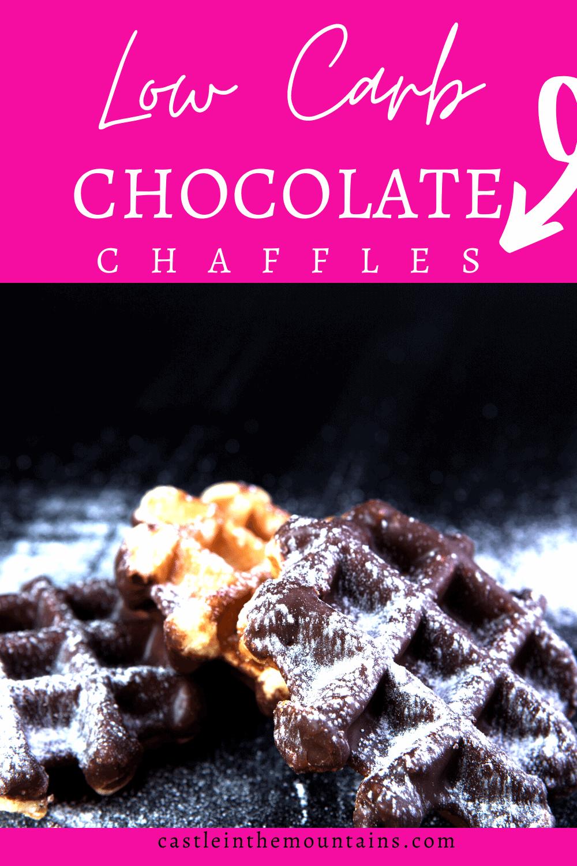 Chocolate Chaffle\'s - How to make Chocolate Waffles!