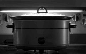 Covered Crock Pot