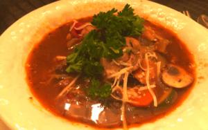 Served Low Carb Crock Pot Beef Pourguinon