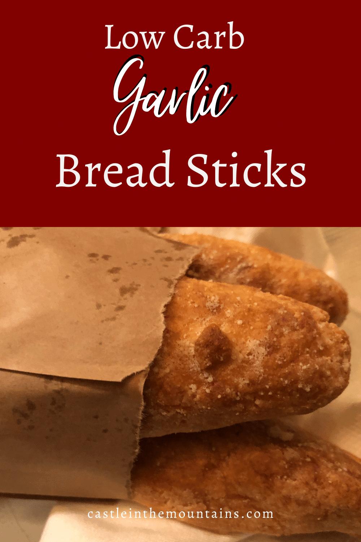 Keto Garlic Bread Sticks ~ How to Make Olive Garden Copycat Bread Sticks