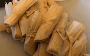 Serve the tamales