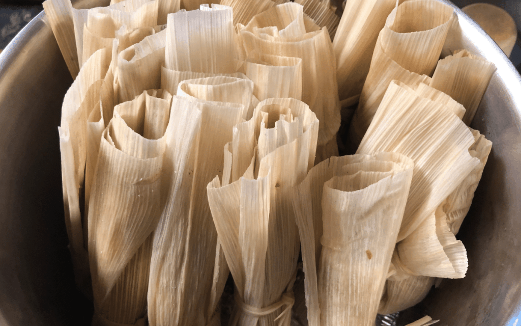 Steam the tamales