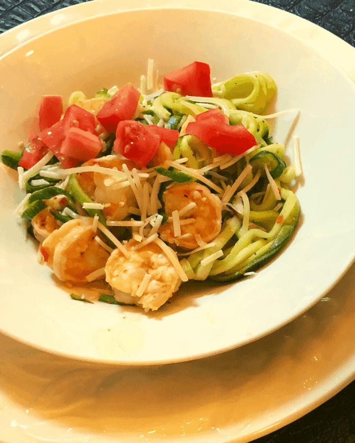 Shrimp scampi recipe keto Gluten free low carb