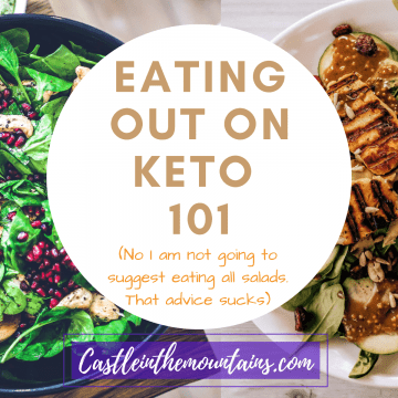 dining out on the keto diet - what to eat on keto