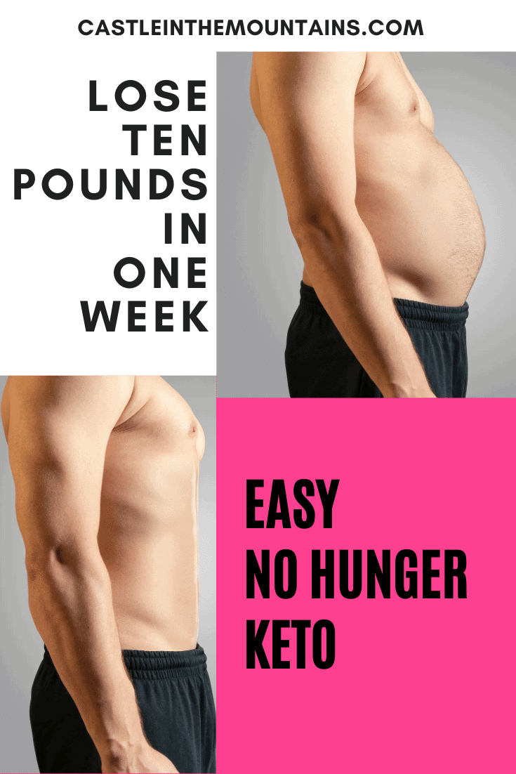 How to Lose 10 pounds in One Week without Starving