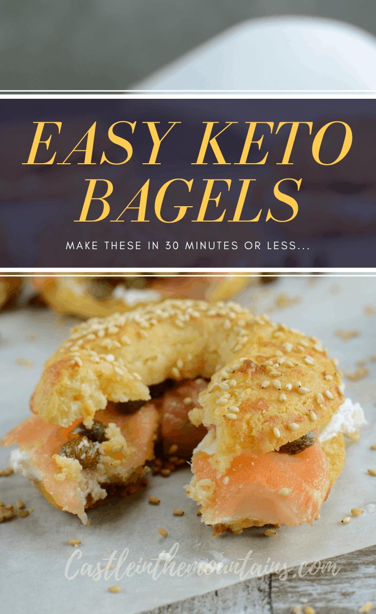 Keto Bagels ~ Fathead Recipe