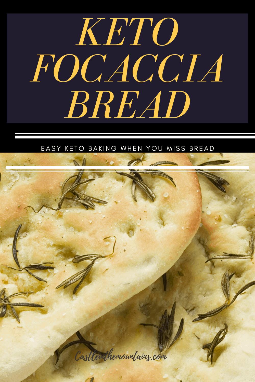 Keto Focaccia Bread