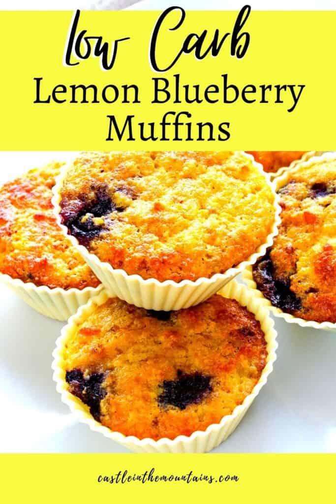 Keto Lemon Blueberry Muffins Pins (3)