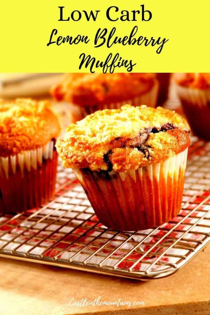 Keto Lemon Blueberry Muffins Pins (5)