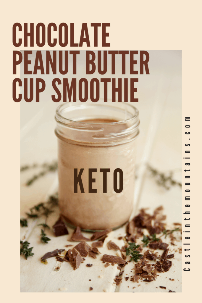 Keto Peanut Butter Cup Smoothie (5)