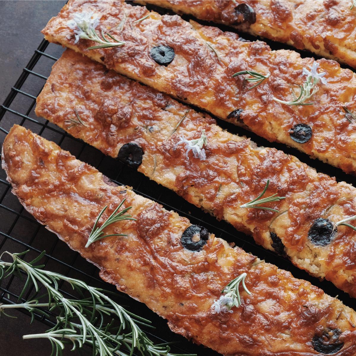 Savory Keto Focaccia Bread Recipe