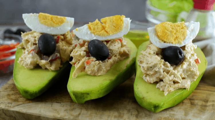 Simple Keto Snacks - Tuna boats