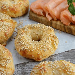 Super Satisfying Keto Bagels Recipe