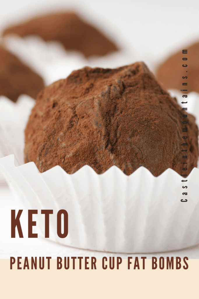 Keto Chocolate peanut butter cup bites (1)