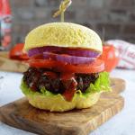Two Minute Burger Bun