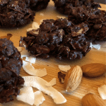 Simple Keto Chocolate Almond Clusters ~ Decadent 5 Minute Candy Recipe