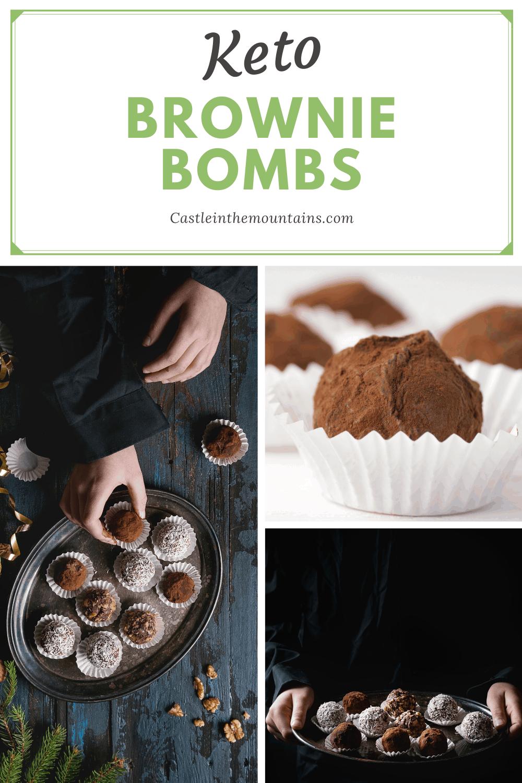 Keto Fudgy Brownie Bites