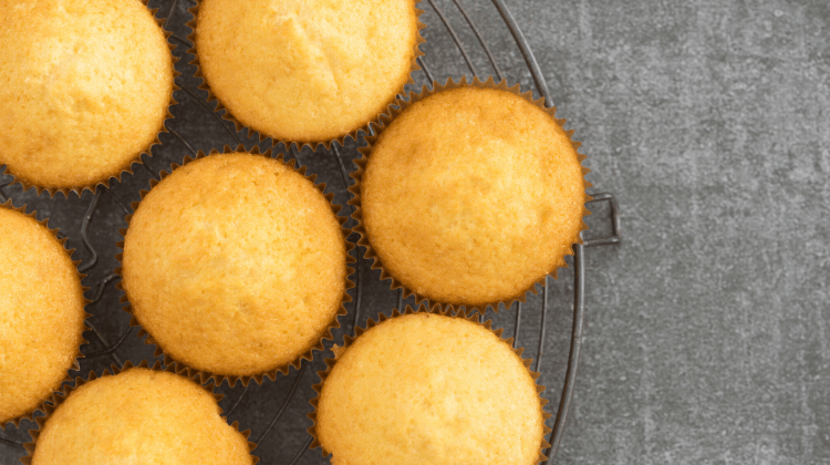 Keto Vanilla Cupcakes Featured Images