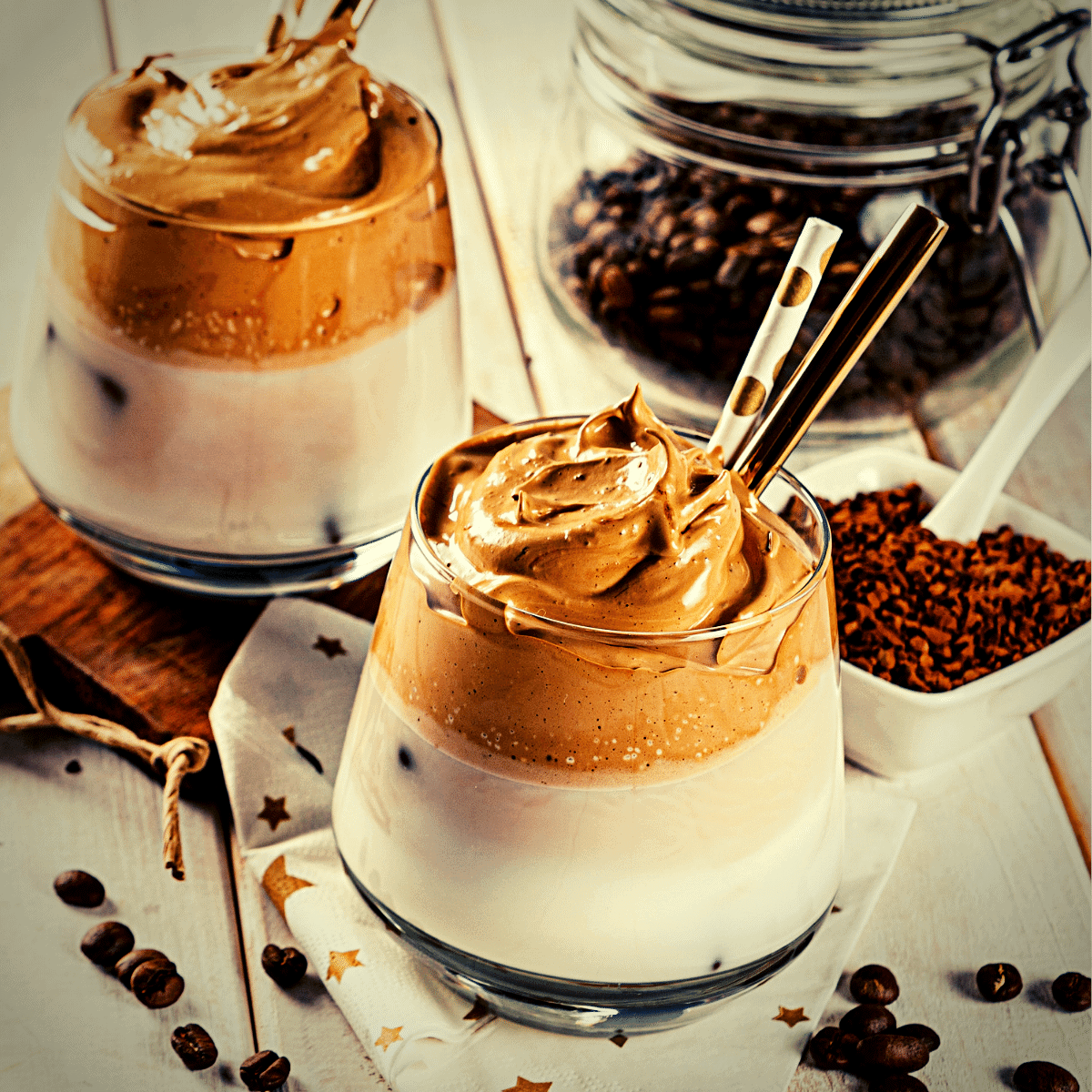 Keto Whipped Coffee Recipe low carb gluten free treat