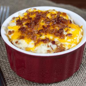 Keto bacon cauliflower mash Recipe