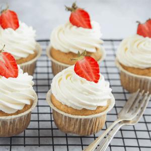 vanilla keto cupcakes recipe low carb gluten free