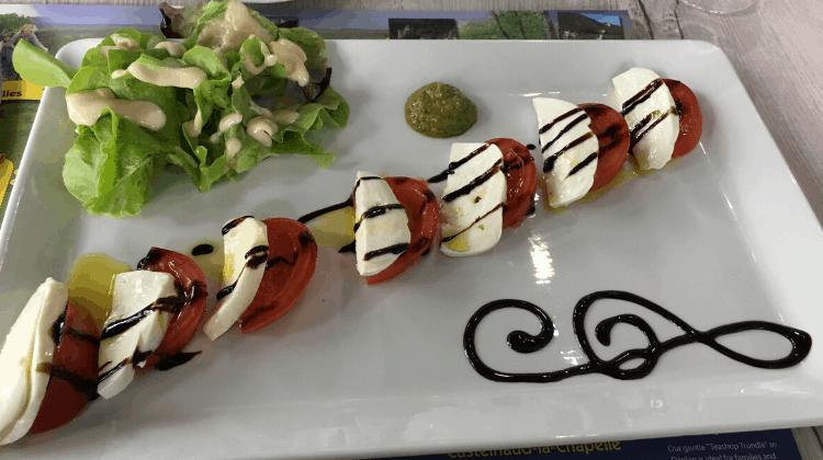 Caprese Salad recipe served