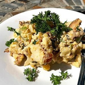 Keto Roasted Cauliflower Salad