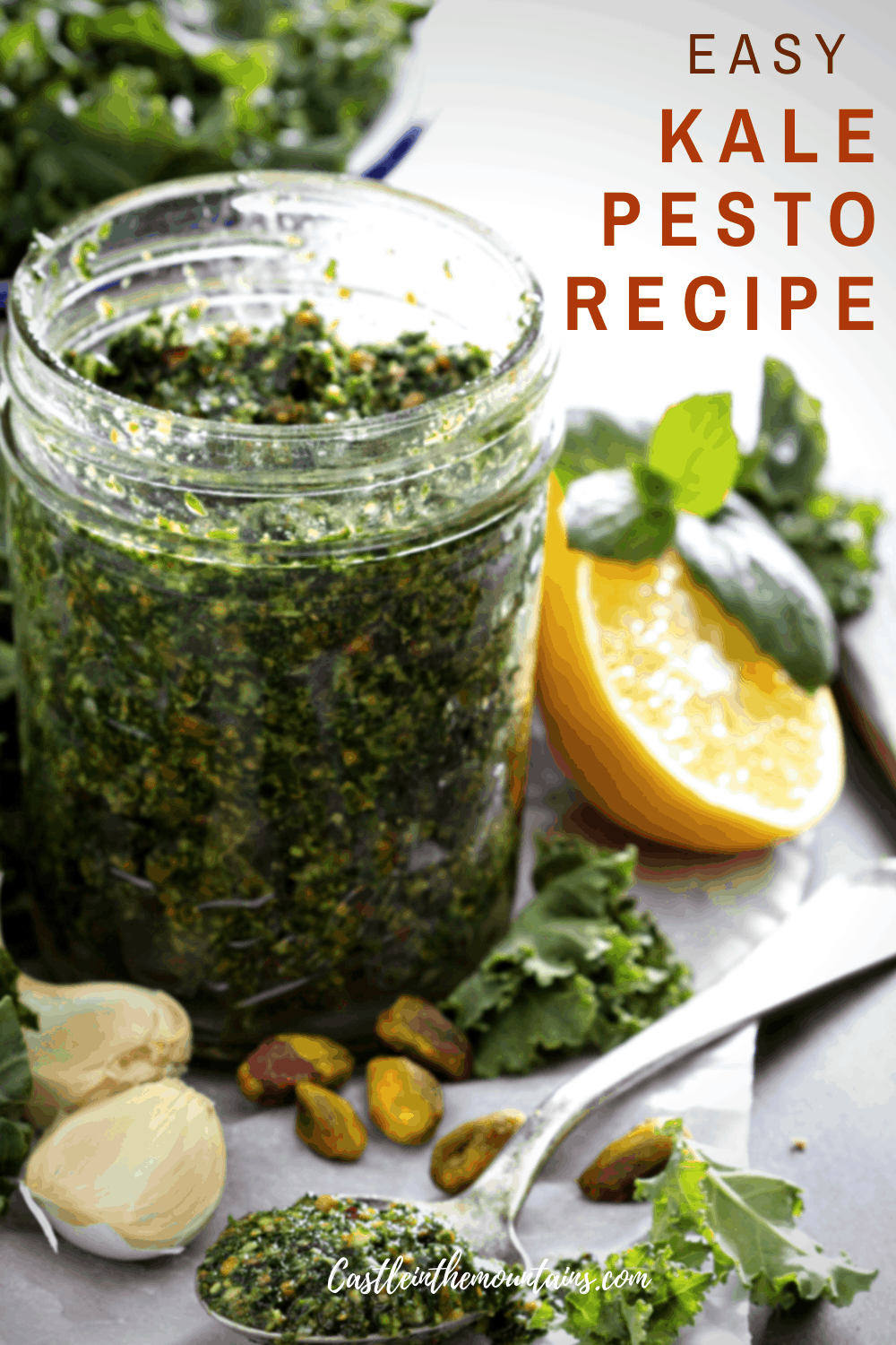 Easy Kale Pesto Sauce